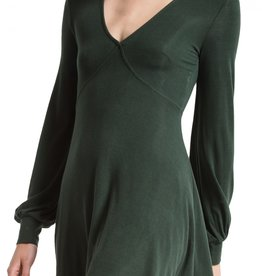 Z Supply Micro Rib Longsleeve Dress