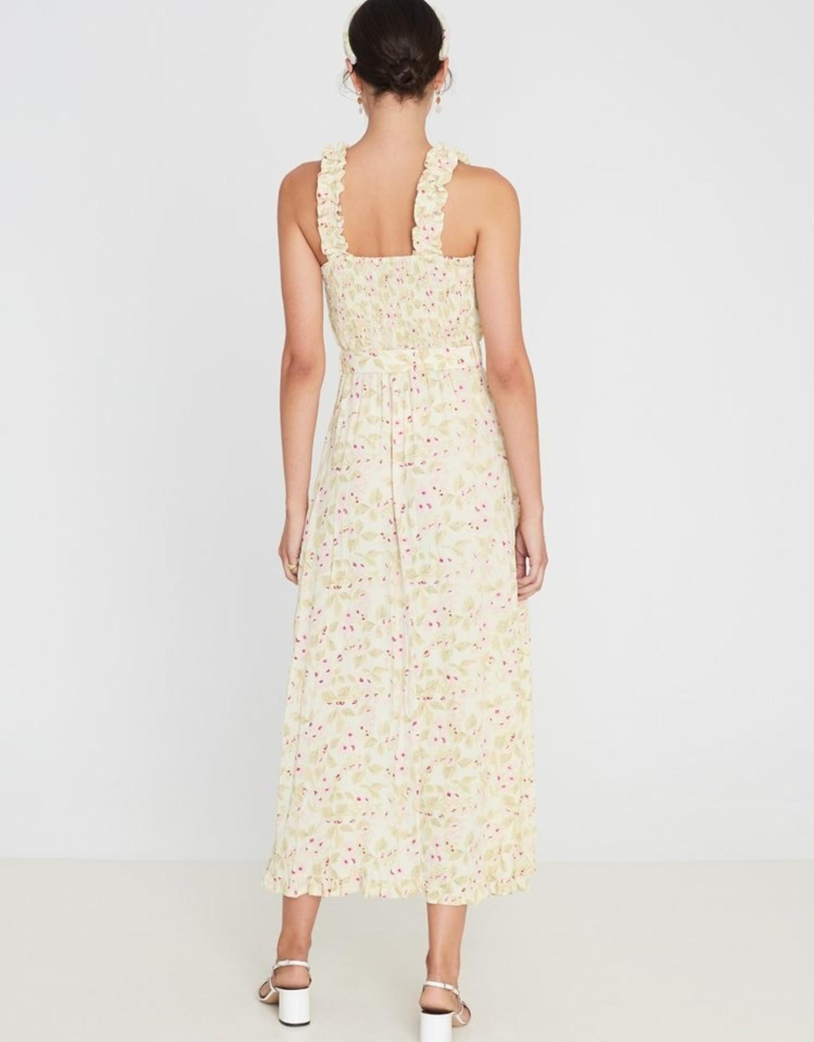 Faithfull the Brand Saint Tropez Midi Dress