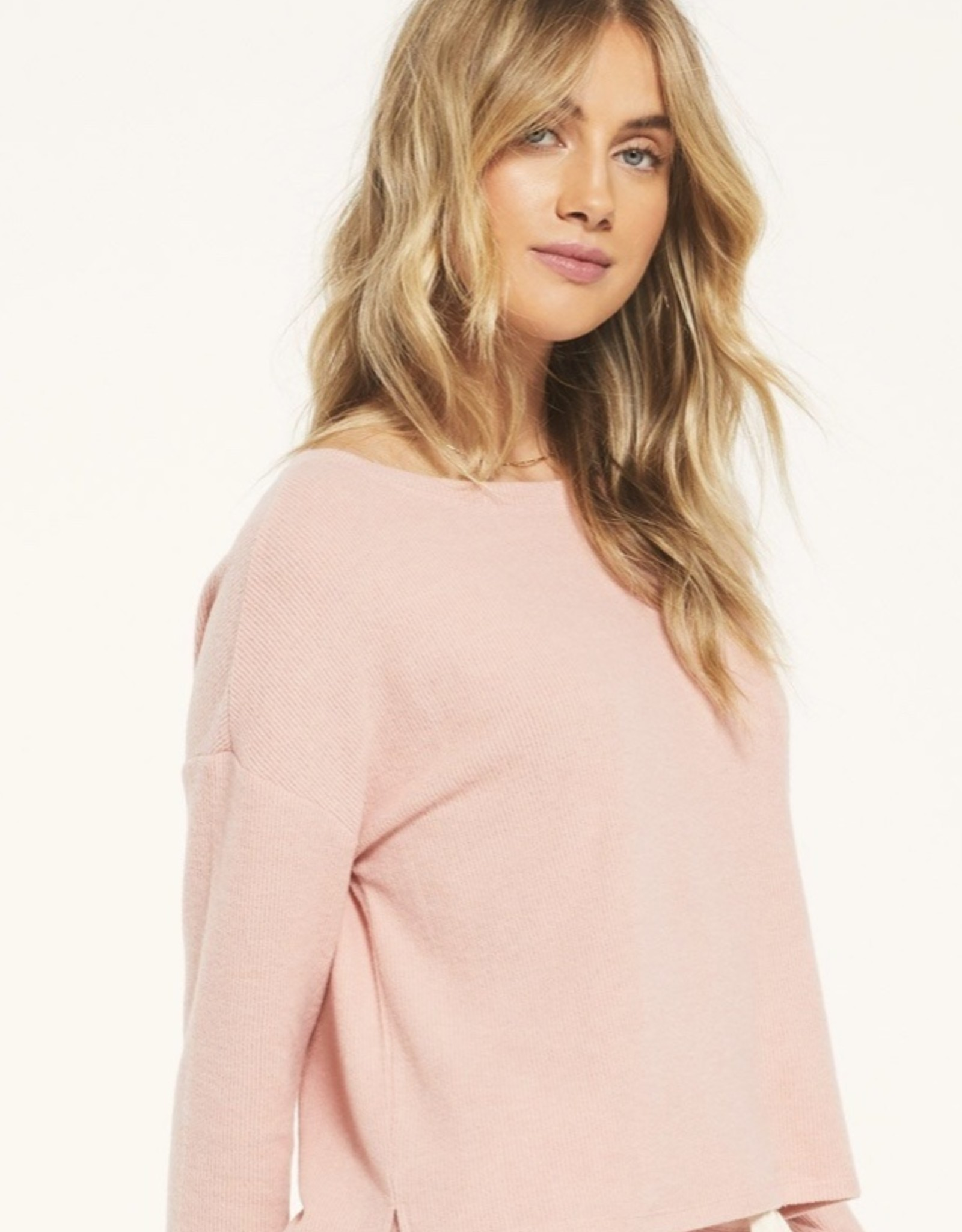 Z Supply Leila Rib Longsleeve