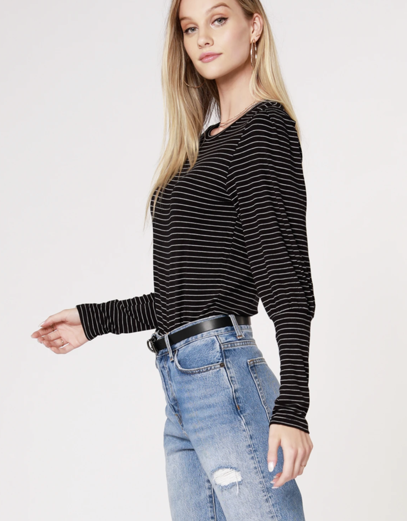 Bobi Bishop Sleeve Top