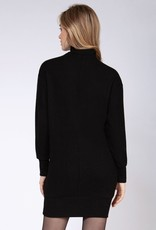 Dex Mock Neck Sweater Dress