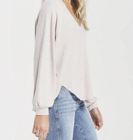 Z Supply Lira Slub Sweater Top