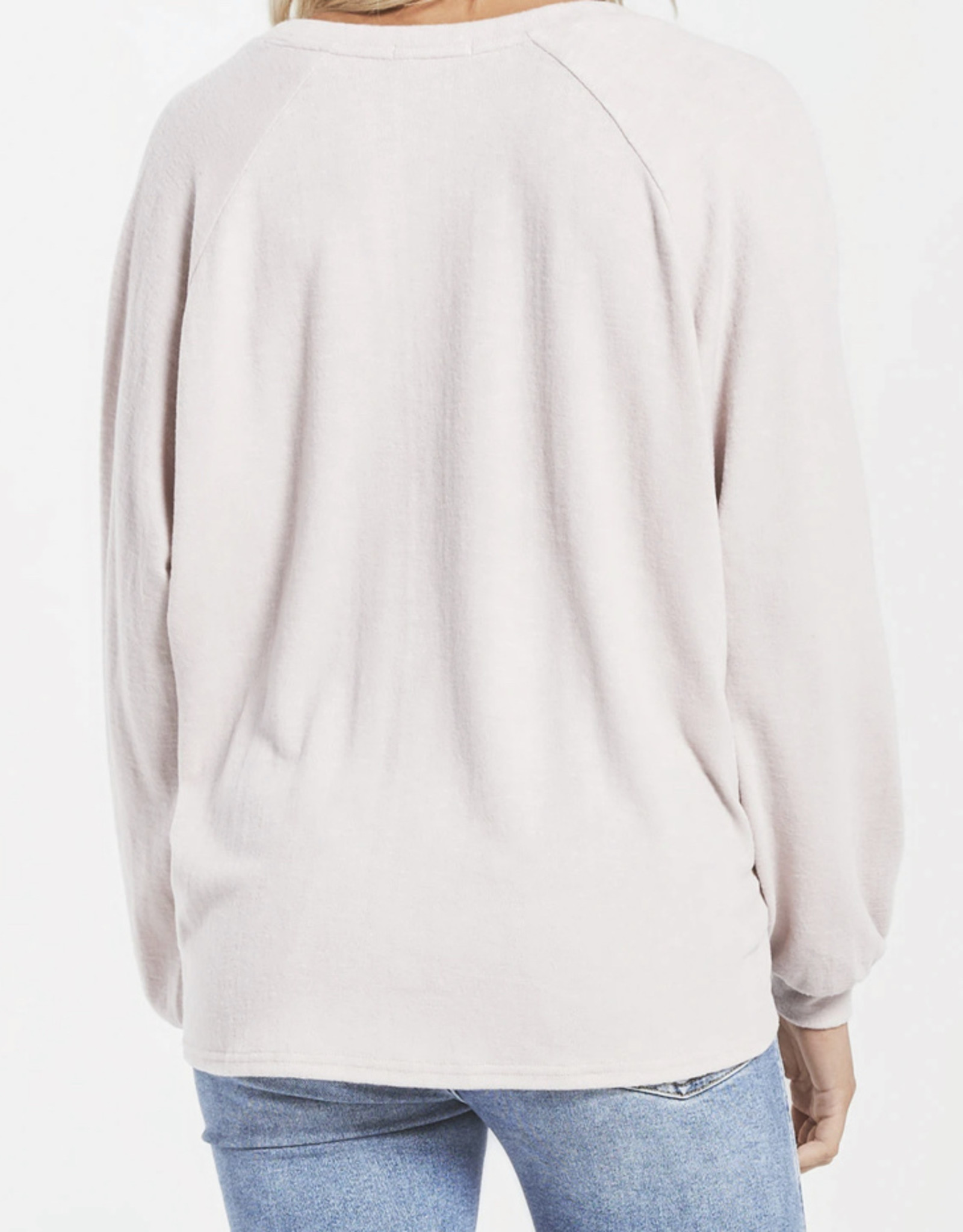 Z Supply Lira Slub Sweater Top