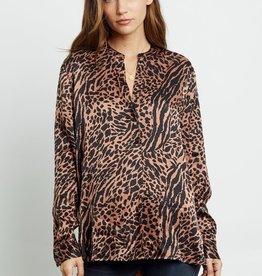 Rails Rails Cinnamon  Animal Blouse