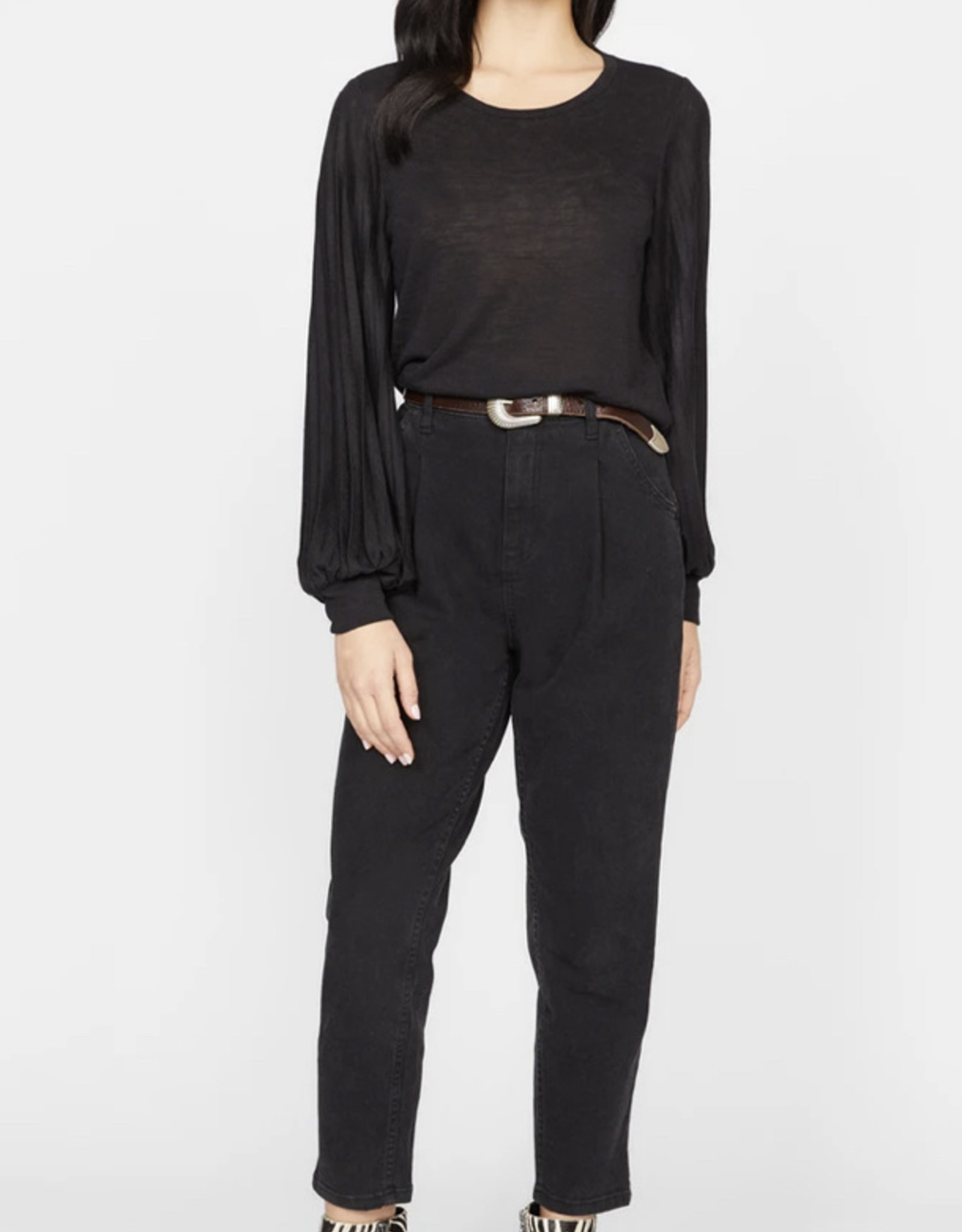 Sanctuary All Out Pleated Long Sleeve