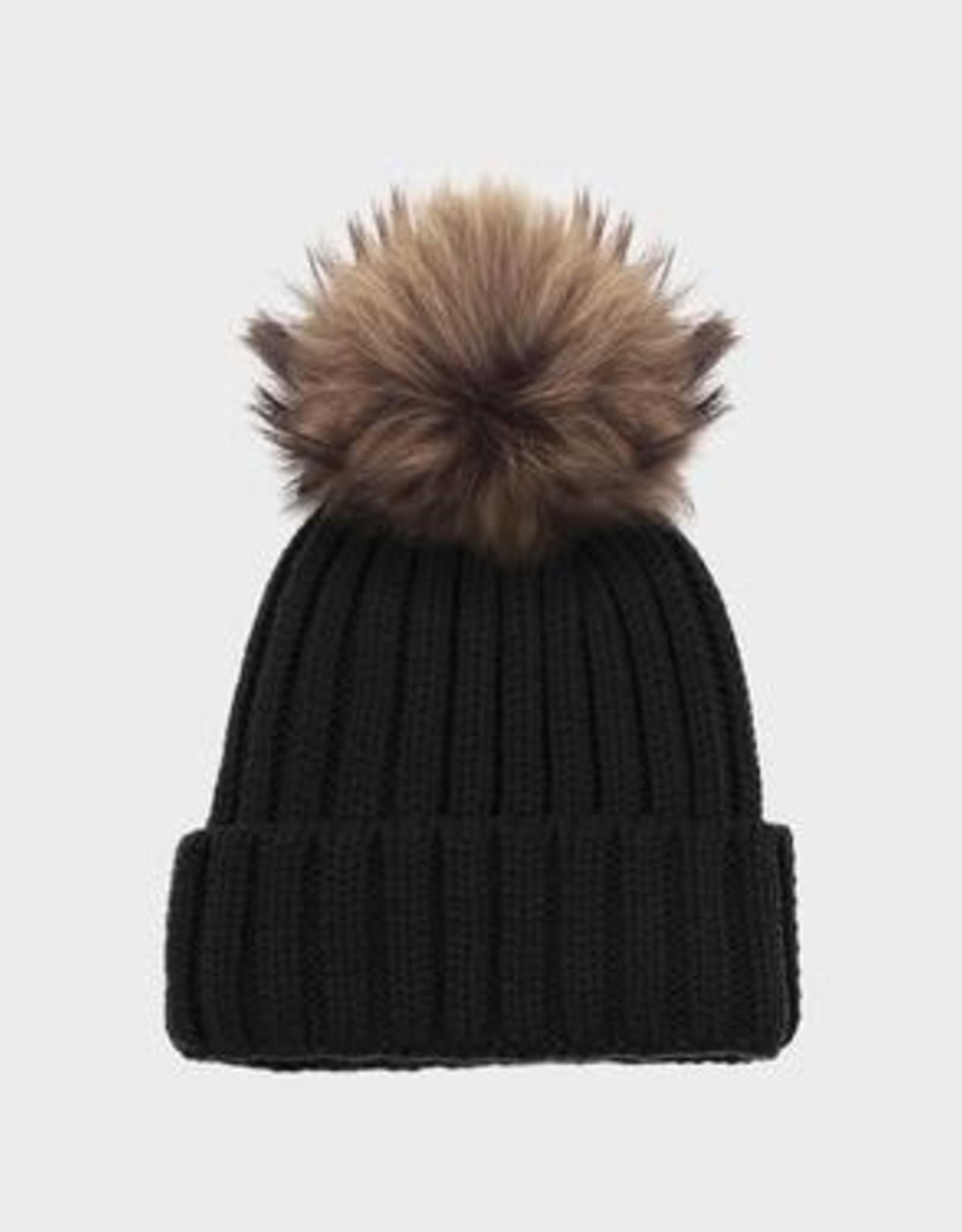 Rudsak Anya Fur Pom Pom Hat