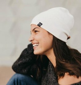 Rolled Edge Cashmere Beanie