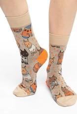 Good Luck Sock Women's Sweater Cats Socks