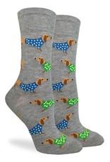 Good Luck Sock Women's Wiener  Dog Socks