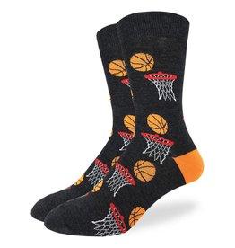 Good Luck Sock Men's King Size Basketball Socks