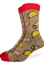 Good Luck Sock Men's Taco and Burrito Socks