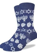 Good Luck Sock Men's Hanukkah Socks