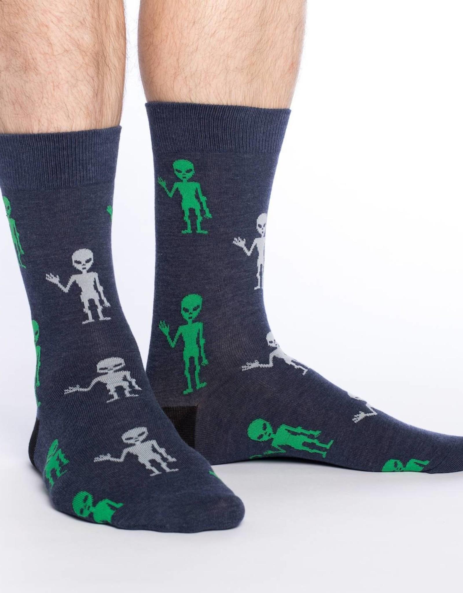 Good Luck Sock Alien Socks