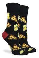 Good Luck Sock Men's Pizza and Beer Socks