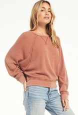 Z Supply Claire Waffle Longsleeve