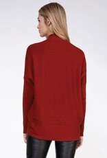 Joanne Mock Neck Sweater