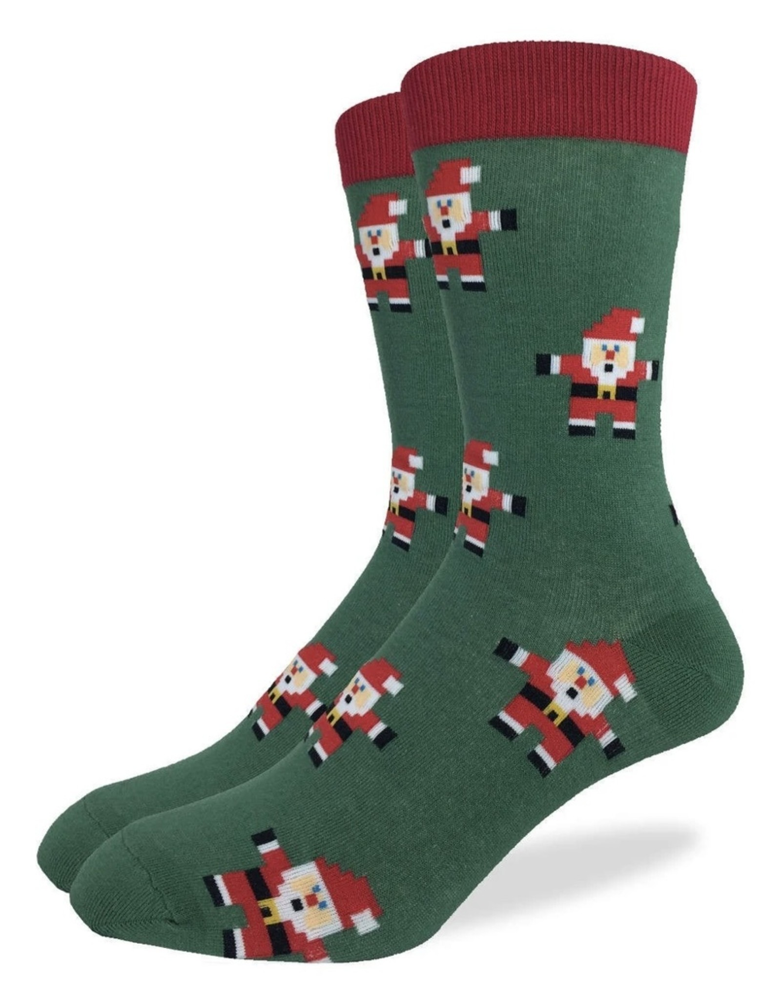 Good Luck Sock Men's Santa Claus Socks