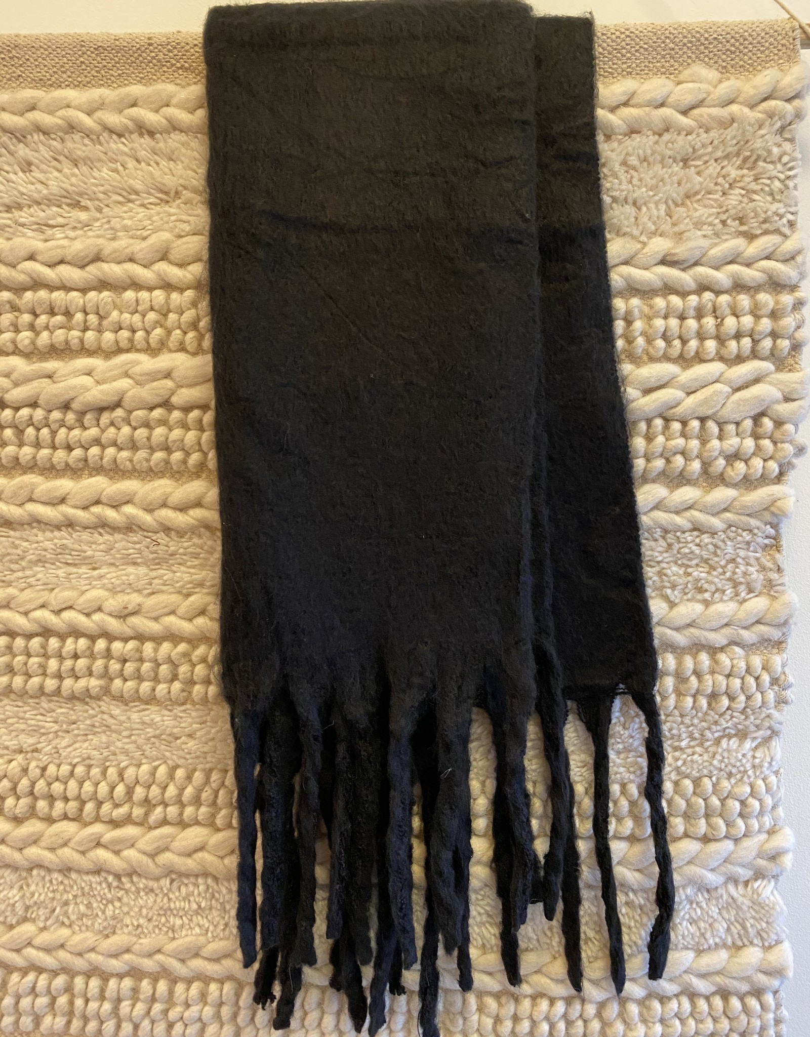 Fringe Cloud Scarf