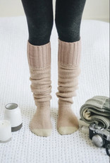 Two-Tone Lounge Socks