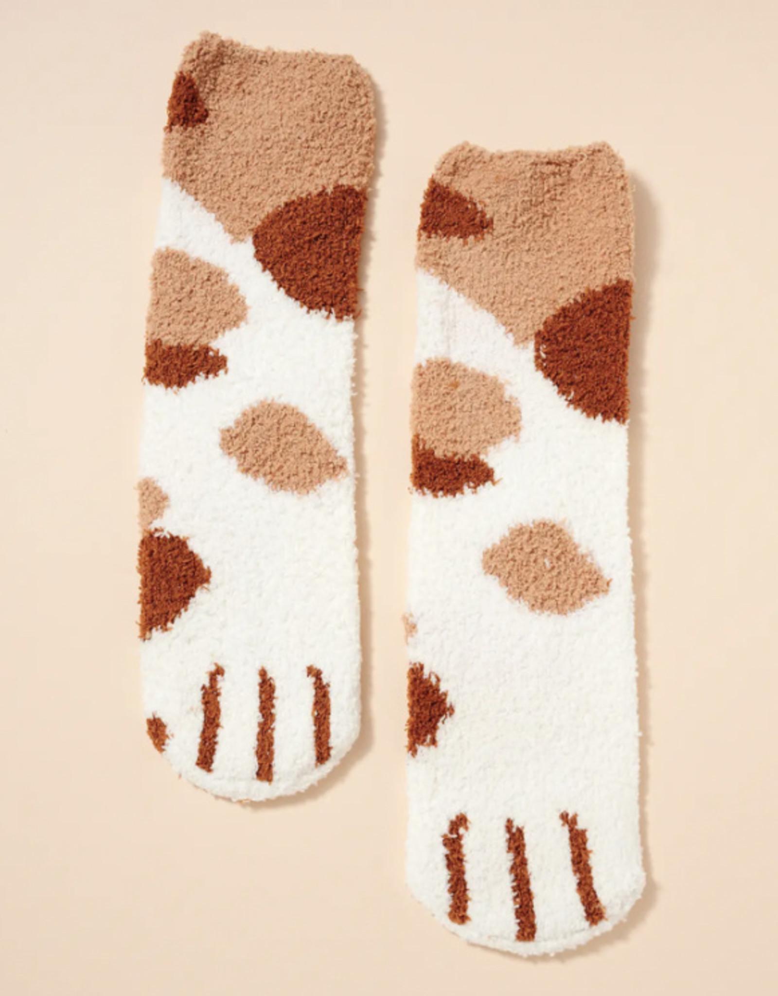 Cat Paw Print Socks