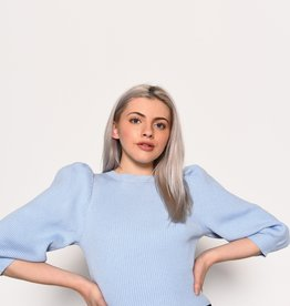Glamorous Pale Blue Knitted Sweater