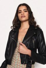 Glamorous Faux Leather Moto Jacket