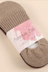 Avenue 3 Pair Assorted Pack Ribbed Crew Socks