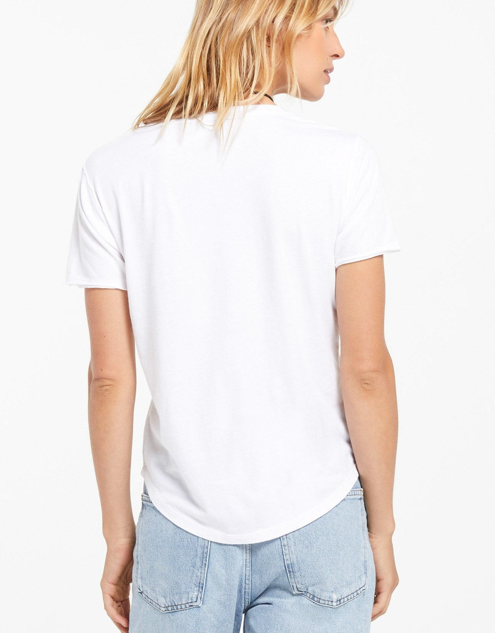 Z Supply Organic Cotton V-Neck T