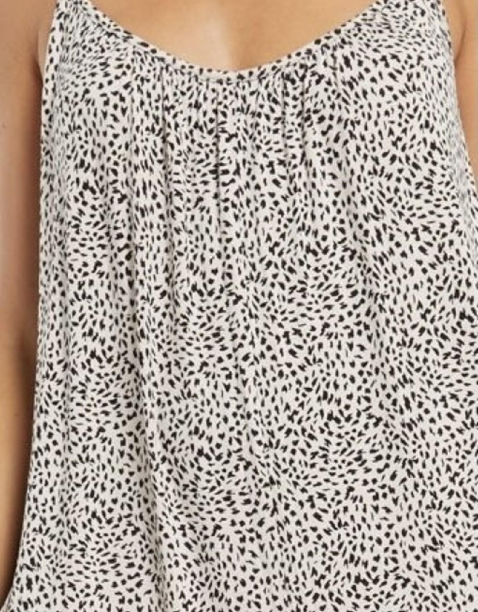 Z Supply Mini Leopard Jumpsuit