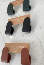 Earth & Lore Folded Studs