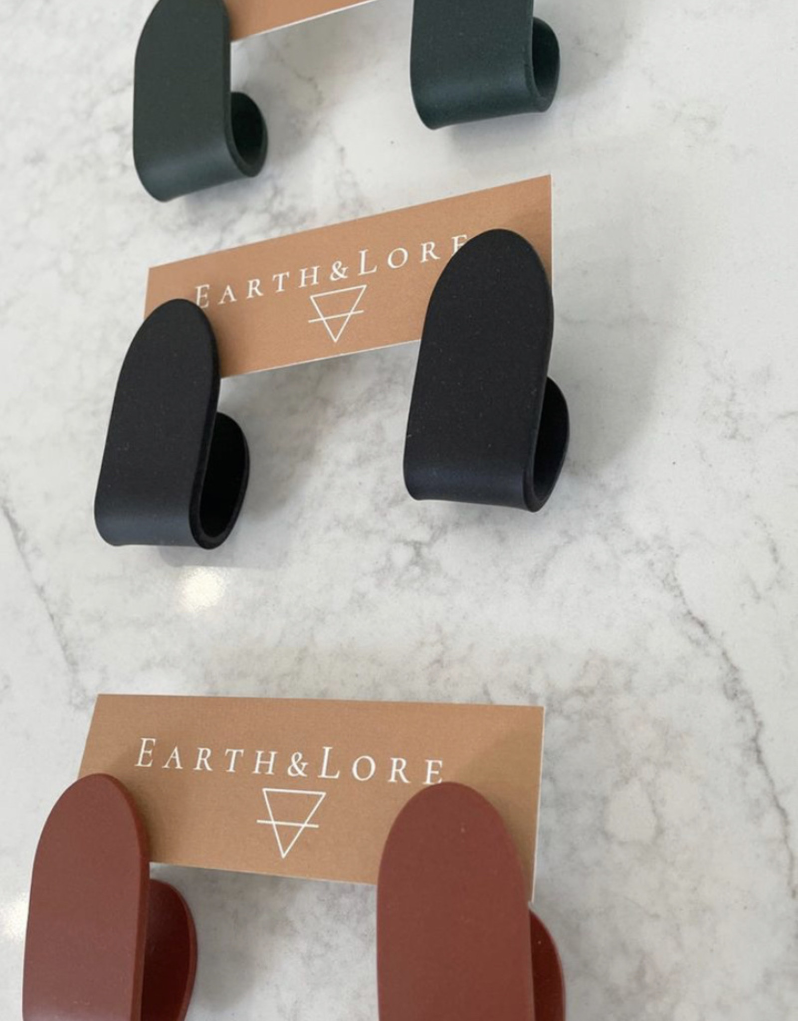 Earth & Lore Folded Studs