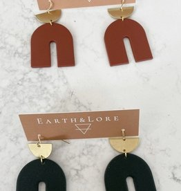 Earth & Lore Arches with Brass Charm