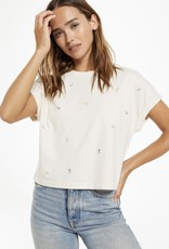 Z Supply Keely Embroidered Tee