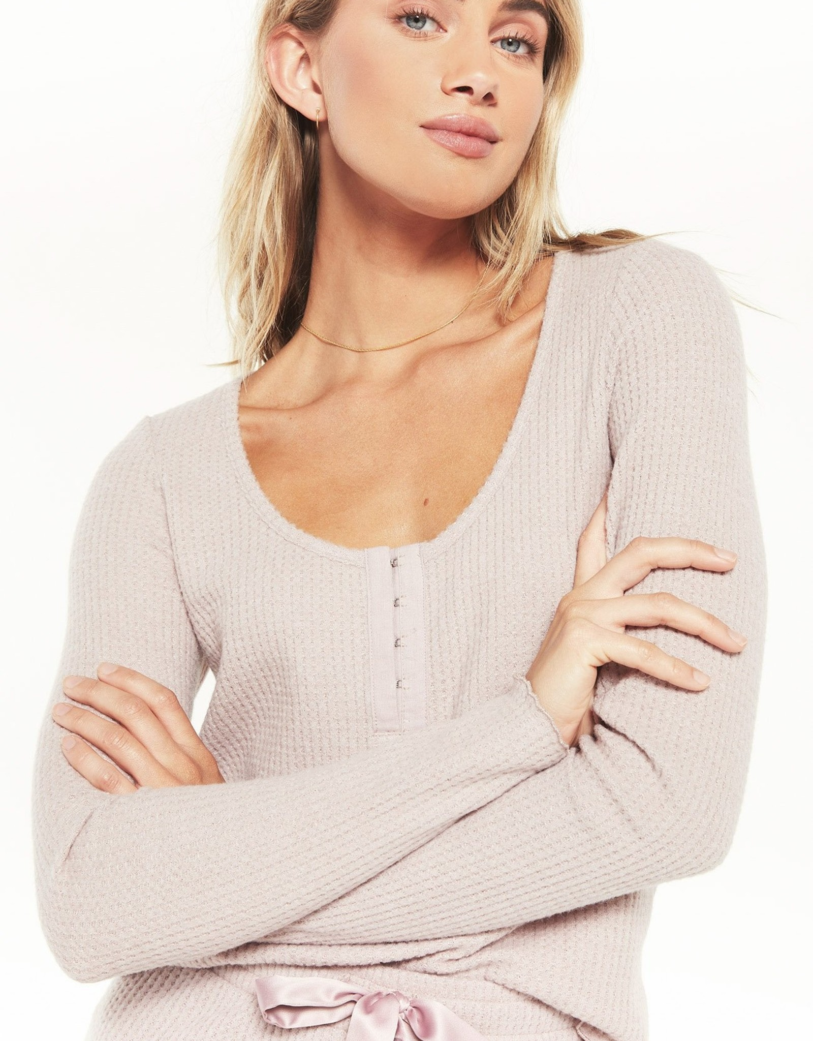 Z Supply Take It Easy Thermal Henley