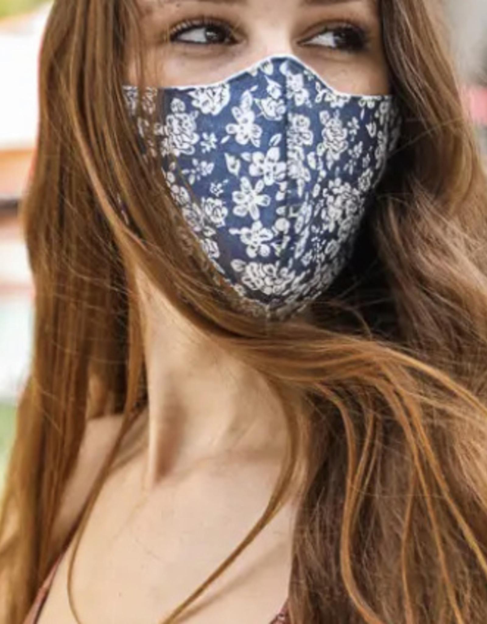 Floral Reusable Facemask