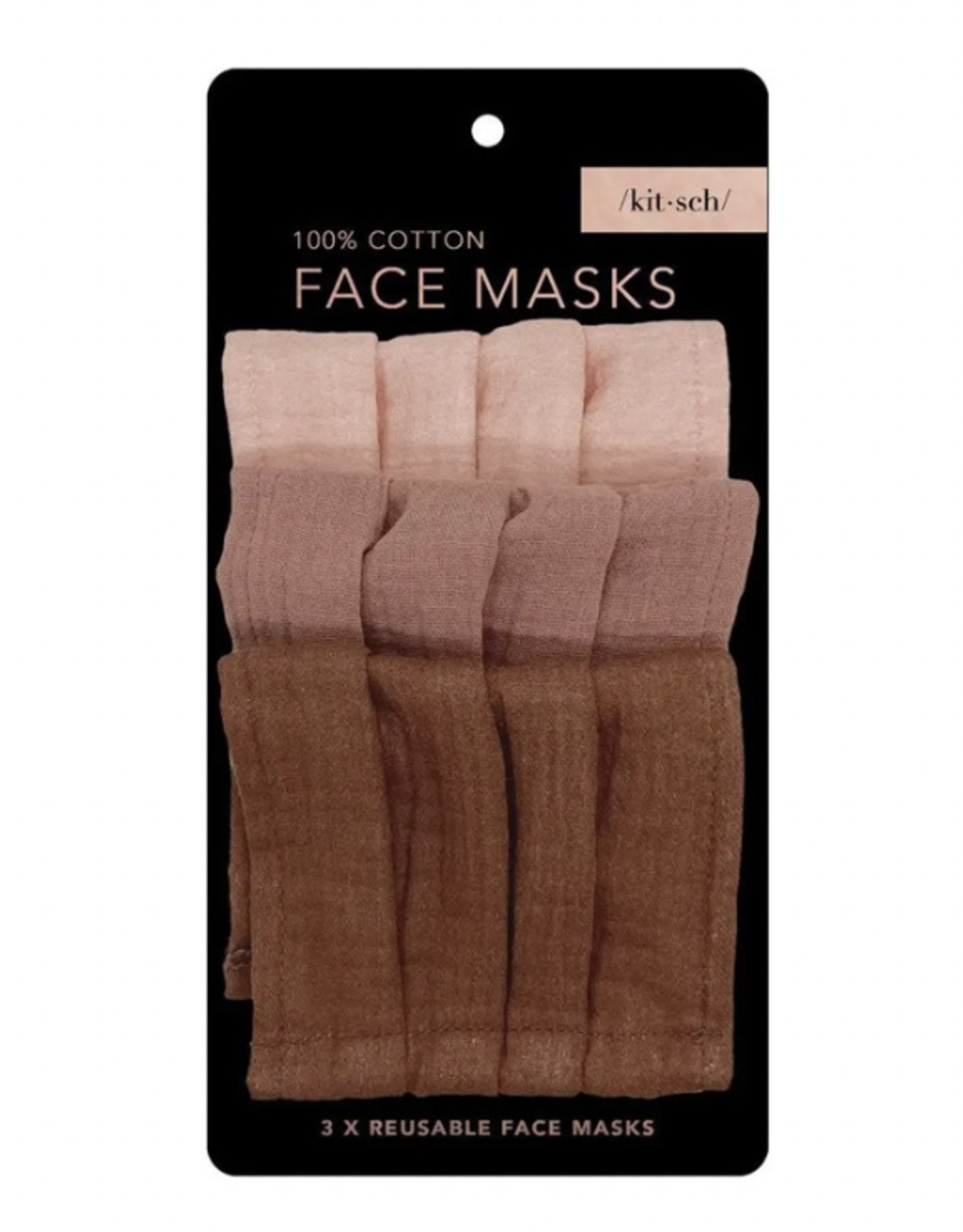 Kitsch Cotton Mask-3 piece set