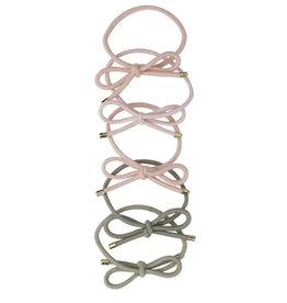 Bow Hair Ties, pack of 5