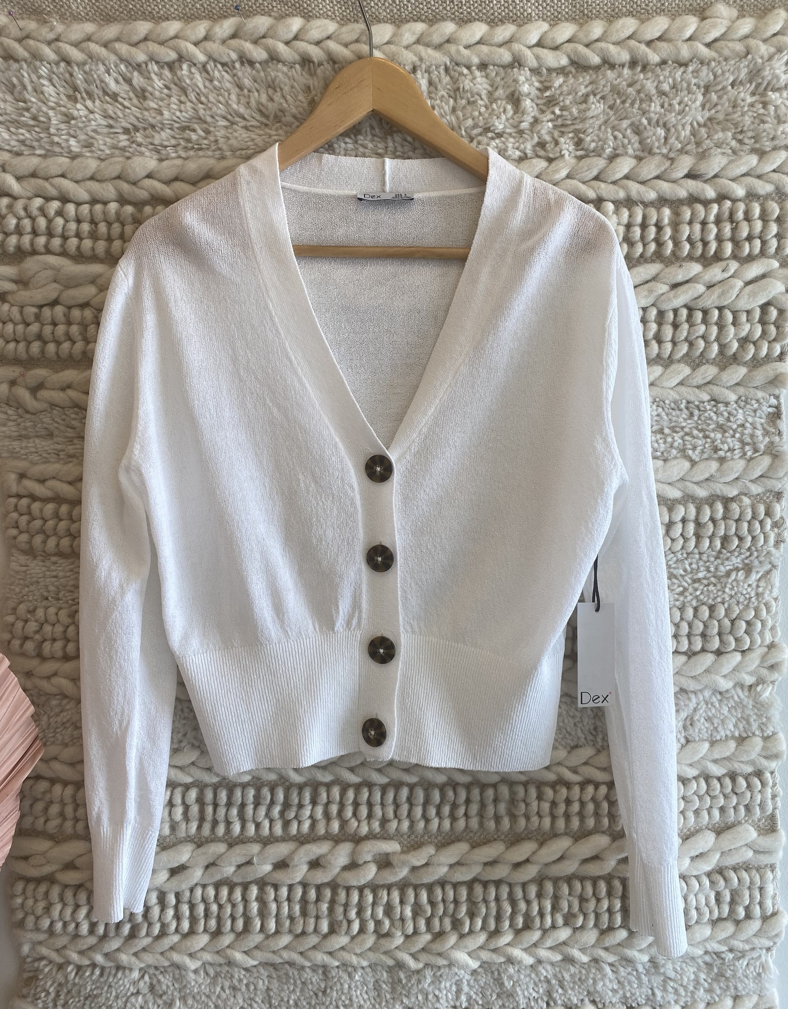 Dex Button Down Cardigan