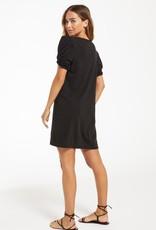 Z Supply Indi Slub Puff Sleeve Dress