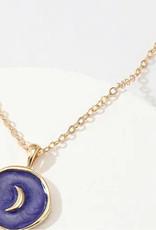 Faire Blue Moon Necklace
