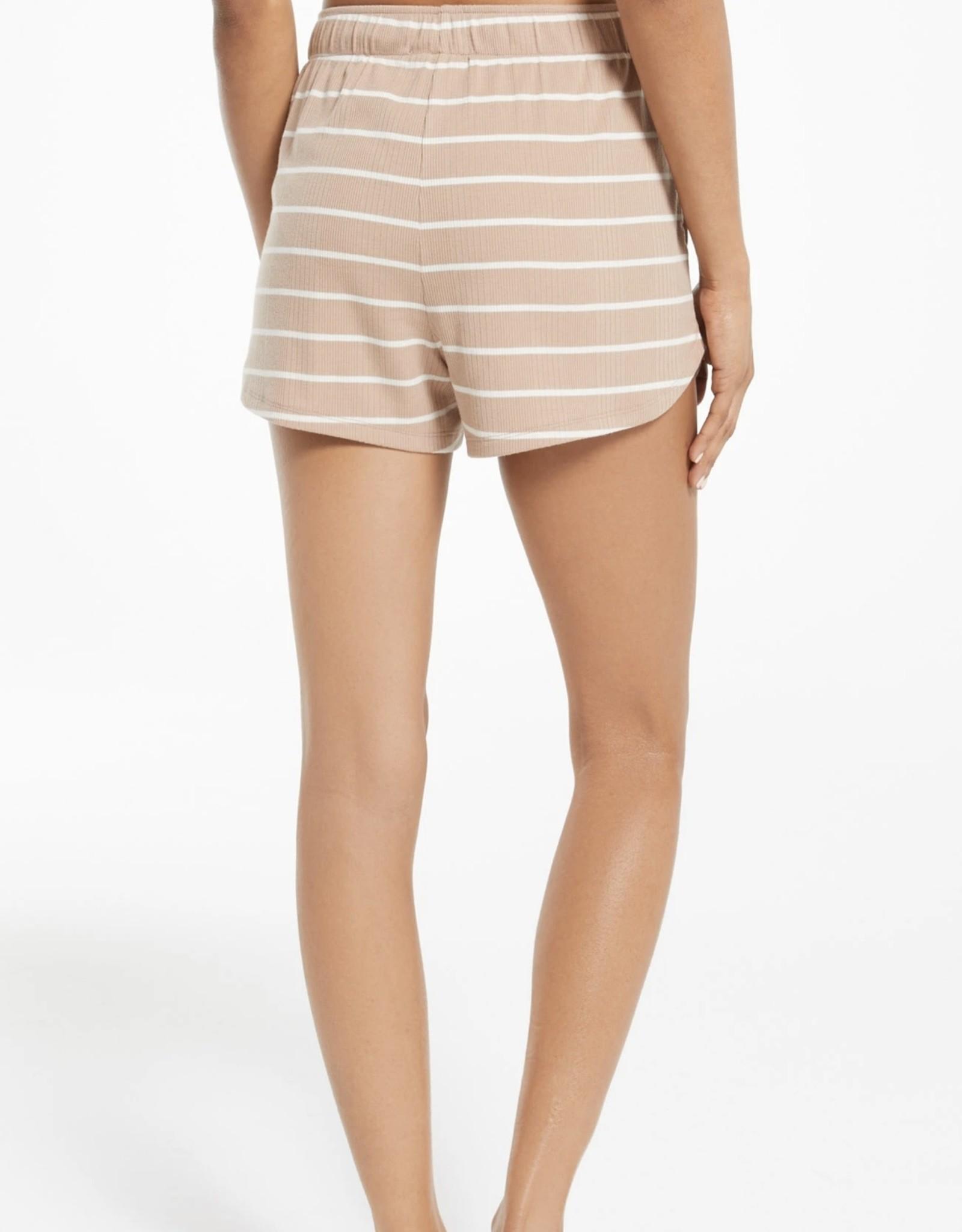 Z Supply Snooze Stripe Shorts