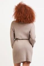 Dex Brenda Belted Sweater Dress