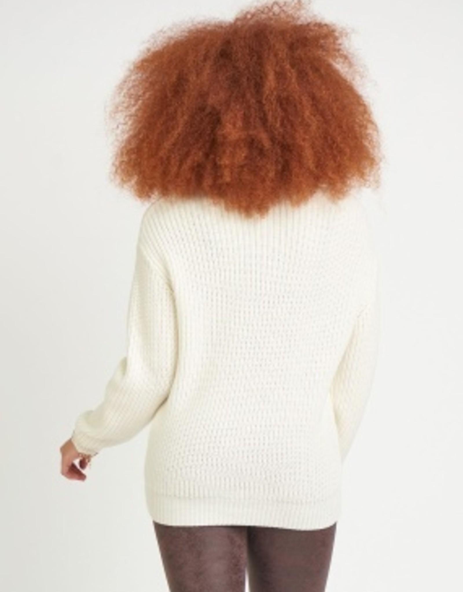 Dex Mary Mock Neck Sweater