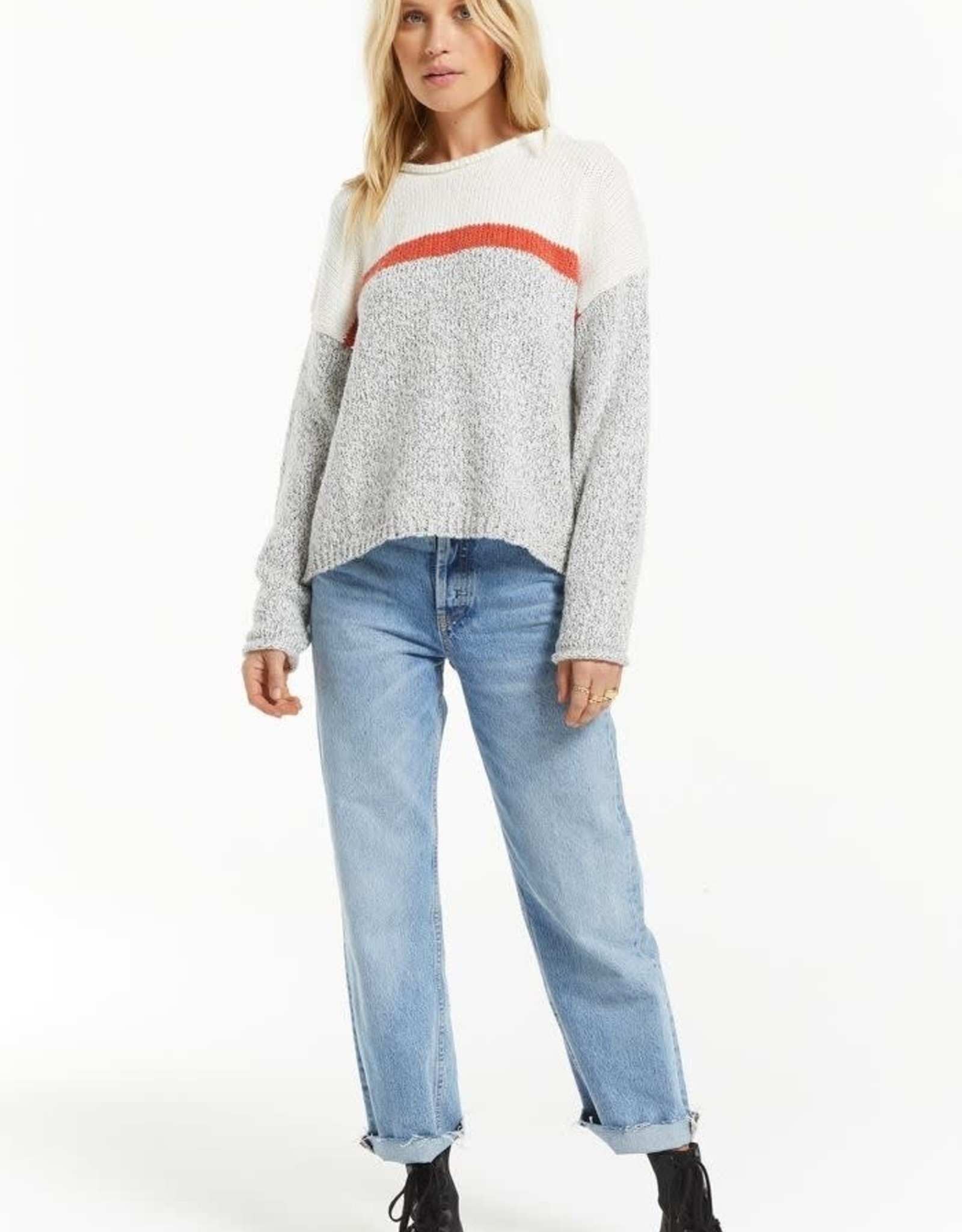 Z Supply Kennedy Colour Block Sweater