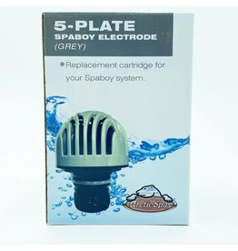 Arctic Spas SpaBoy Electrode Salt Cell Replacement Cartridge Grey 5 Plate