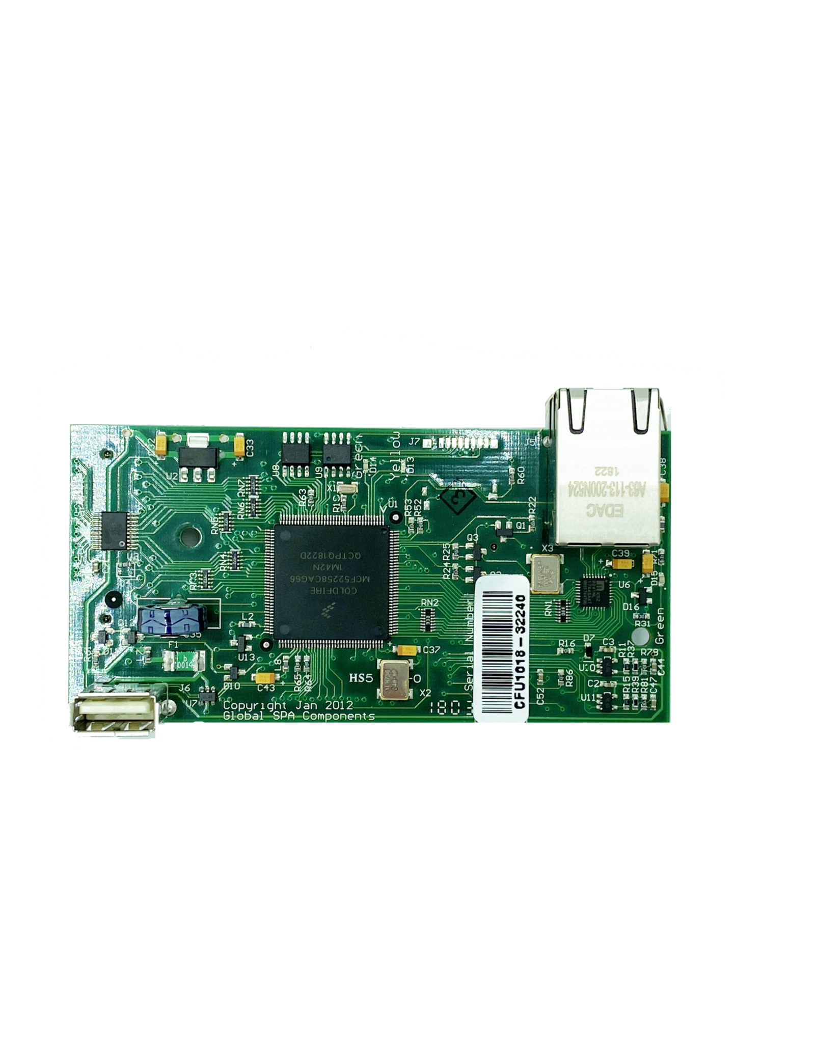 Arctic Spas Global Processor Card
