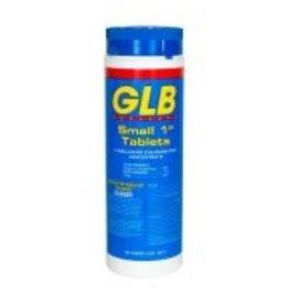"GLB Chlorine 1"" Tabs 2lbs"