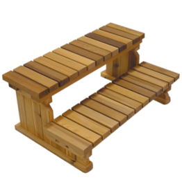 "Arctic Spas 36"" 2-Tier Cedar Step"