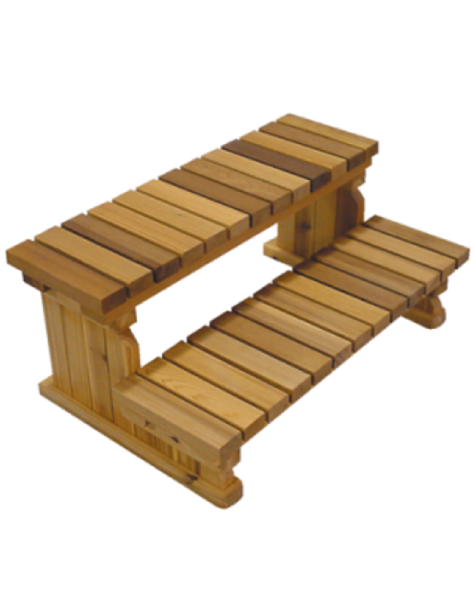 "Arctic Spas 72"" 2-Tier Cedar Step"