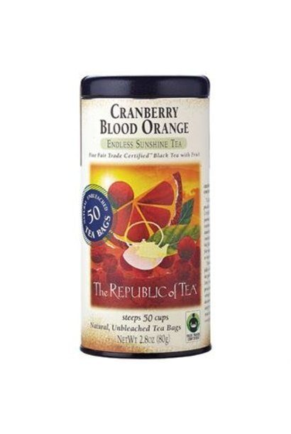 CRANBERRY BLOOD ORANGE TEA